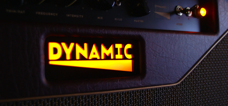Dynamic D2040 Amp Faceplate